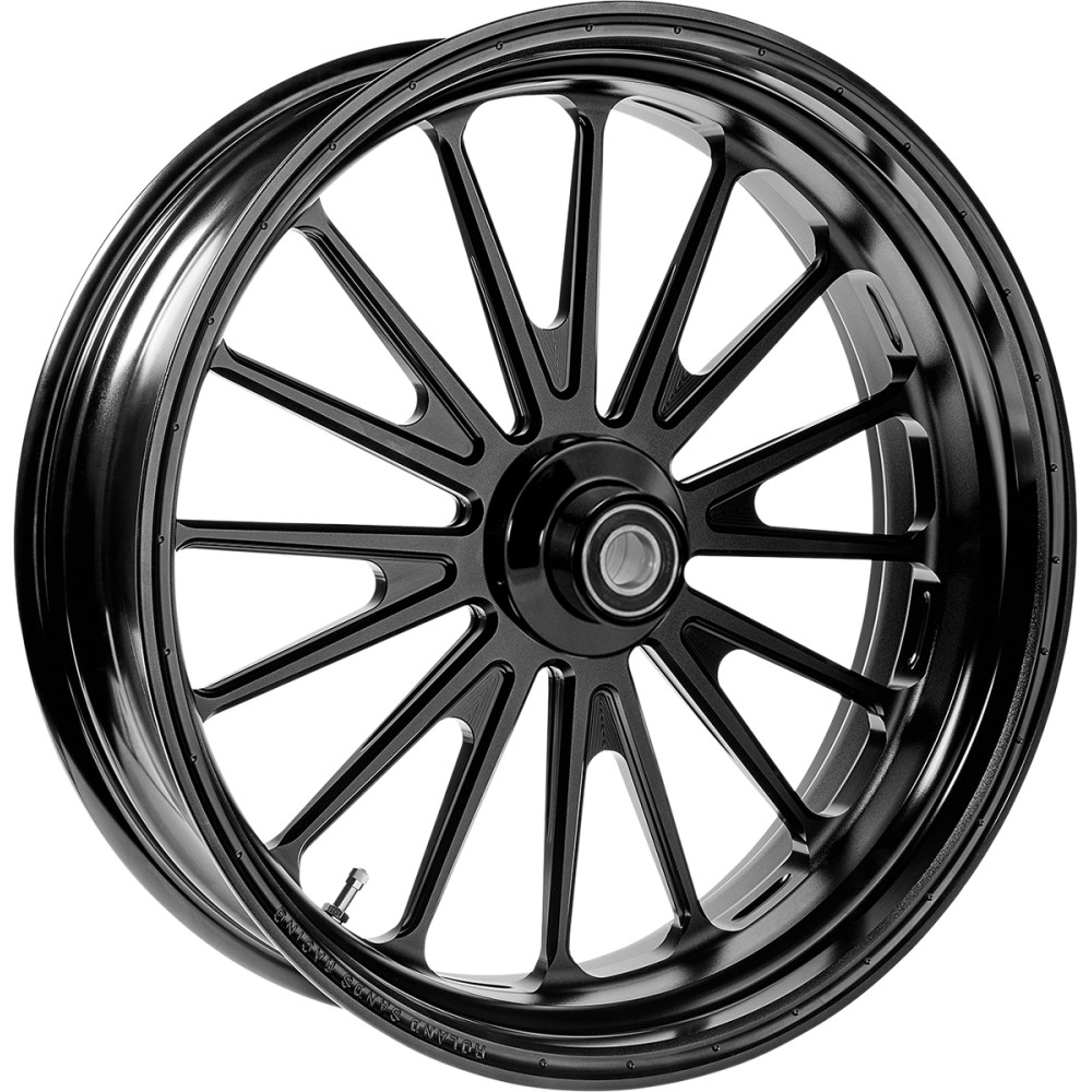 Roland Sands Design Front Wheel - Traction - Dual Disc - 21 x 3.5 - Black - With ABS - 14 FLH