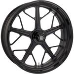Roland Sands Design Front Wheel - Hutch - Black Ops - Dual Disc - 21 x 3.5 - With ABS - 14+ FL