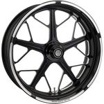 Roland Sands Design Rear Wheel - Hutch - Contrast Cut - 18 x 5.5 - With ABS - 09+ FL