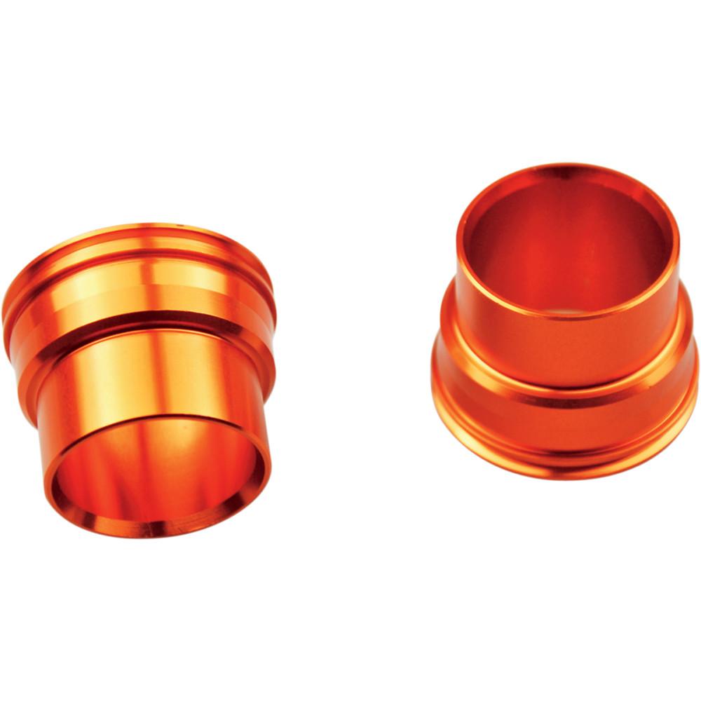 Scar Wheel Spacers - Front - Orange