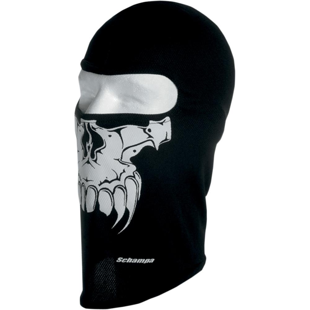 Schampa & Dirt Skins Stretch Skull Balaclava (Primal - Black