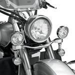 Show Chrome Elliptical Light Bar - XVS1300
