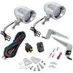 Show Chrome Mini Driving Light Kit - LED - Chrome