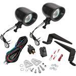 Show Chrome Mini Driving Light Kit - Black
