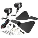 Show Chrome Driving Lights - 15-18 Spyder F3 - Black Satin