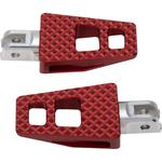 Thrashin Supply Co Front P-54 Footpegs - Red - Softail