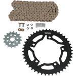 Vortex Steel Chain Kit - Gold - Suzuki - GSX-R750 - '00-'03