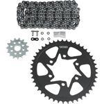 Vortex Chain Kit - Black - Kawasaki - KLE 650 Versys LT '16-'17