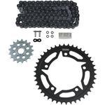 Vortex Chain Kit - Black - Suzuki - GSXS 750/Z '15-'18