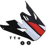 Z1R Visor for Rise Helmet (Evac - Matte Black / Red / White)