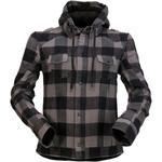 Z1R Timberella Flannel Shirt (Gray / Black)