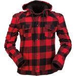 Z1R Timberella Flannel Shirt (Red / Black)
